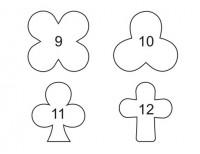 3 Modle za secenje testa za kolace raznih oblika