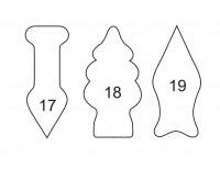 5 Modle za secenje testa za kolace raznih oblika